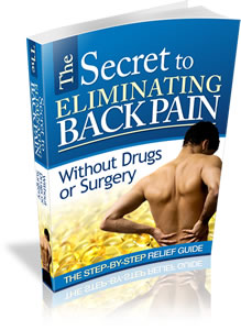 elimating back pain book cover
