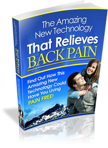 technology that relieves back pain book