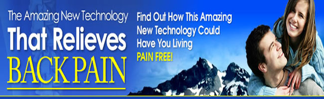 technology that relieves back pain