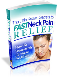 fast neck pain relief book cover